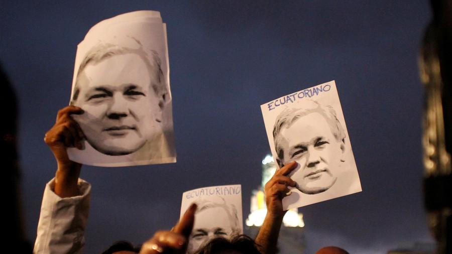 US 'Secretly Charged' Assange, Prosecutor Accidentally Reveals