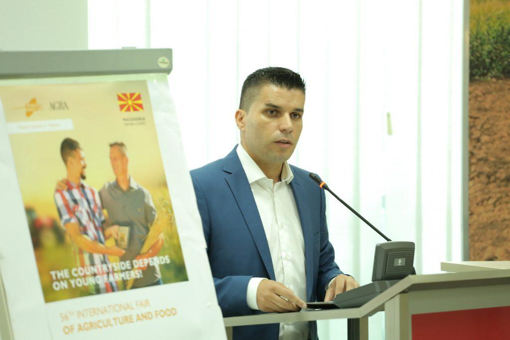 Nikolovski attends Berlin International Green Week