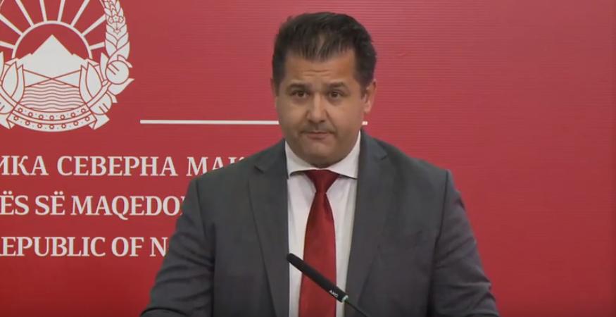 Government's spokesman resigns to take up seat in Pendarovski's Cabinet