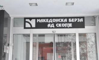 Акцијата на НЛБ банка на врвот по прометот на Македонска берза
