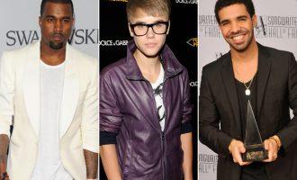 Kание Вест, Џастин Бибер и Дрејк ќе ги бојкотираат Греми наградите