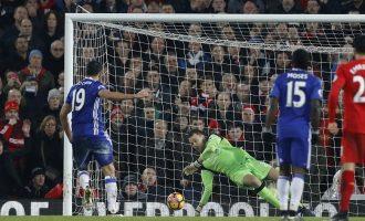 Диего Коста промаши победа на Енфилд, Арсенал шокиран од Вотфорд