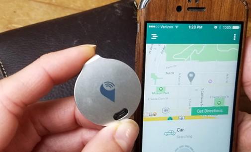 Мал уред го лоцира вашето возило со користење смартфон