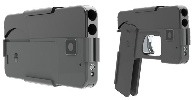 Американската компанија произведе пиштол кој може да се камуфлира во iPhone