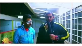 ВИДЕО.Кувајтски водител потпали гостин во пренос во живо