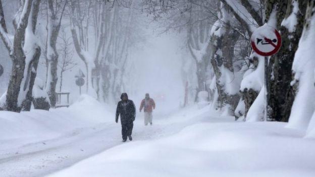 Студено и во четврток  затоплување од петок  па повторно снег од сабота
