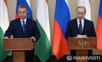 Путин во Унгарија, најголемиот руски сојузник во ЕУ