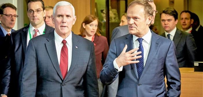 Пенс: Трамп останува приврзан на соработката со ЕУ, САД го поддржуваат обединувањето на Европа