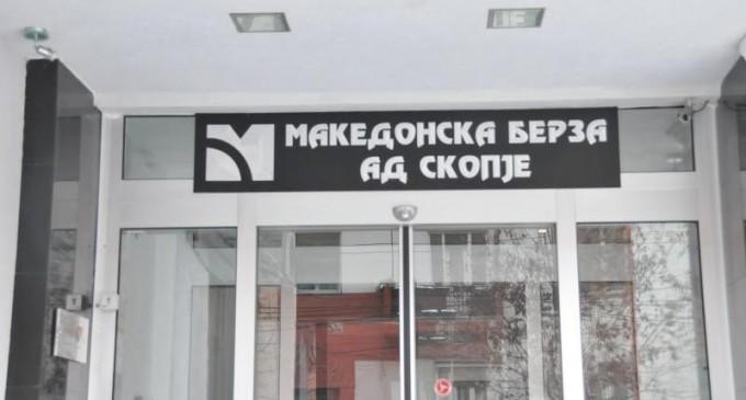 Промет од над 5,7 милиони денари на Македонска берза