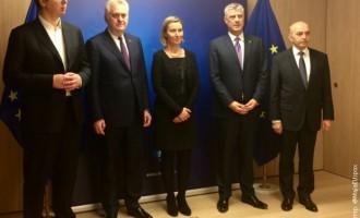 Могерини охрабрена од дијалогот меѓу Белград и Приштина, другите без изјави