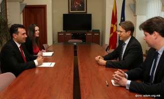 Заев се сретна со Жбогар: Целосно сме посветени на формирање нова реформска влада