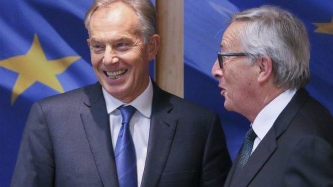 """Тони Блер ги повика Британците """"да се кренат"""" против Brexit"""
