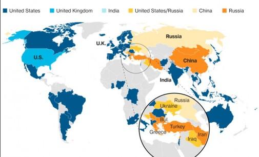 """Анкета: Жителите на четири земји членки на НАТО повеќе би го сакале """"чадорот"""" на Русија"""