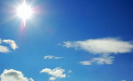 Сончево со мала облачност и слаб јужен ветер
