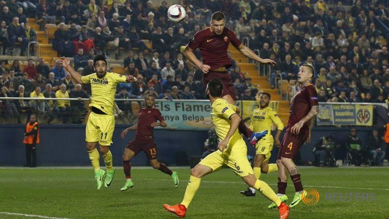 Лига Европа  Хет трик на Џеко и Ибрахимовиќ
