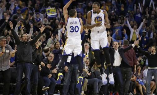 НБА: ГС постигна 50 поени за четвртина, трипл-дабл на Леброн