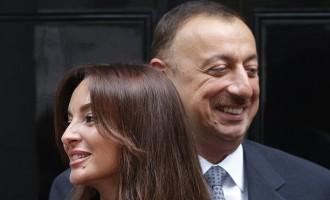 Азербејџанскиот претседател Алиев ја именуваше својата жена за негов заменик