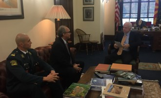 Безбедносните предизвици во фокусот на разговорите на Јолевски со сенаторите МекКејн и Круз