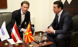 Попоски-Курц: Австрија задоволна од придонесот на Македонија во справувањето со мигрантската криза