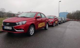 """Русите започнаа со извоз на новата """"лада"""" на германскиот пазар"""