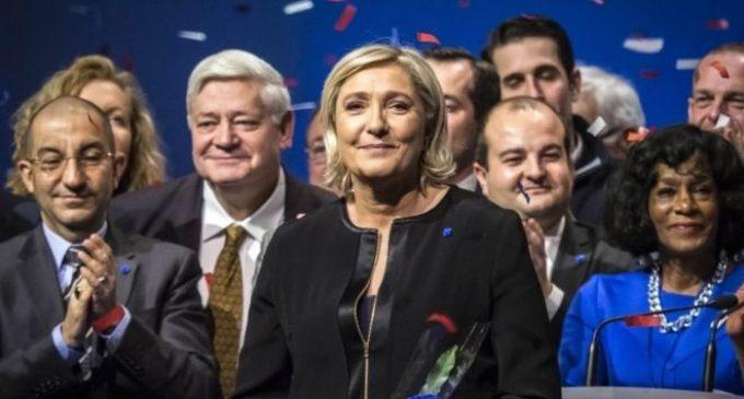 Лепен ја претстави изборната програма: против ЕУ, НАТО, глобализацијата и имиграцијата