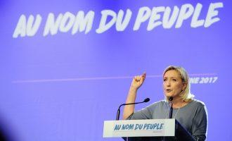 """Лепен ја започна кампањата ветувајќи ѝ """"слобода"""" на Франција"""