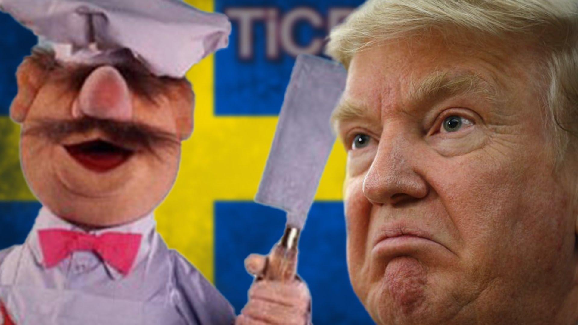 Тероризам  криминал и имиграција во Шведска  има ли Трамп право