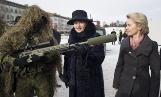 Силите на НАТО се истоварија во Литванија за поддршка на одбраната на границата кон Русија