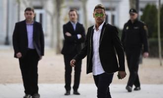 Одбиена жалбата на Нејмар, фудбалерот се соочува со затворска и милионска парична казна