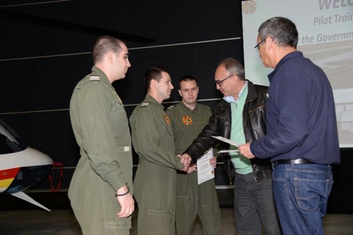 Отворен ден во Центарот за обука на пилоти