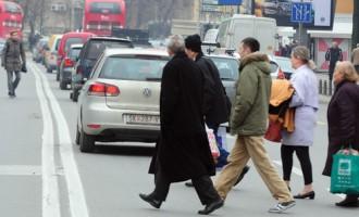 Зошто страдаат пешаците во Македонија?