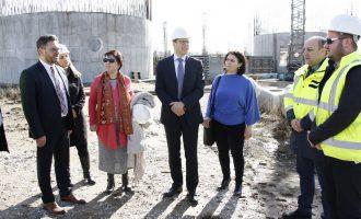 Прилеп со европски пари доби канализација и пречистителна станица