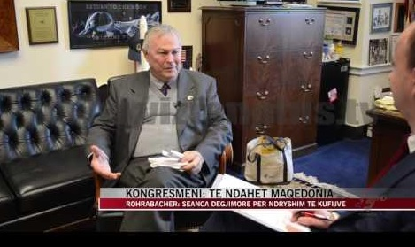 ОМД бара конгресменот Рорабакер да поднесе оставка од Поткомитетот за Европа
