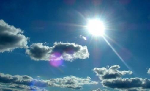 Сончево со слаб јужен ветер