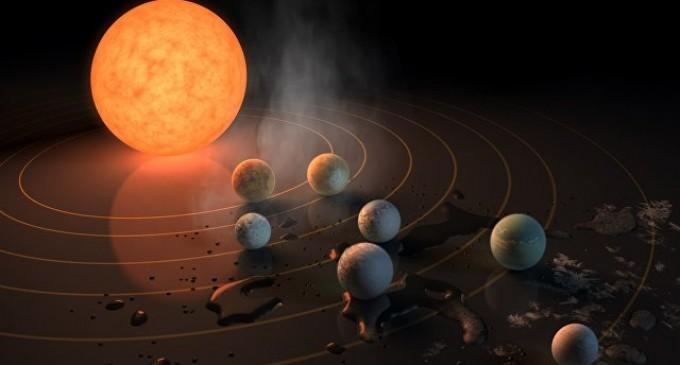 Откриени седум планети, три можат да бидат погодни за живот