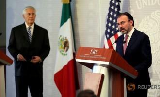 Мексико на пратениците на Трамп им изрази загриженост и надразнетост