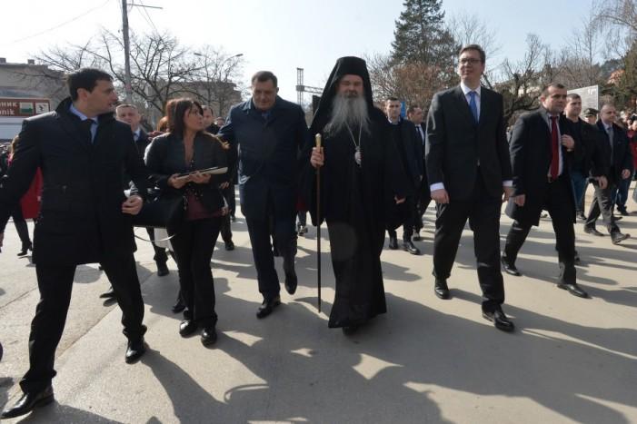 Вучиќ: Никој не може да го сопре српското срце да чука за Косово