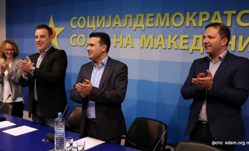 СДСМ едногласно го избра Заев за мандатар за состав на нова Влада