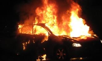 Опожарено возило во Прилеп