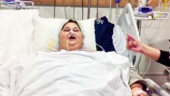 """Најтешката жена на светот """"танцуваше"""" по операцијата"""