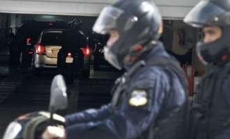Престрелка при грабеж на супермаркет во Атина