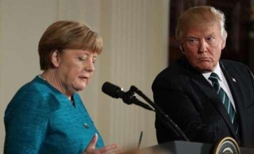 Трамп ја шокирал Меркел: Фактура од 300 милијарди долари долг кон НАТО
