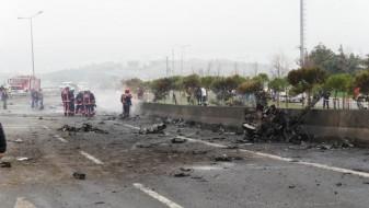 Се појави снимка од падот на хеликоптерот крај Истанбул