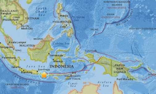 Земјотрес од 5,5 степени според Рихтер го погоди Бали