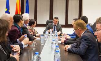 Попоски: Мирот и стабилноста во регионот зависат од извесноста за интегрирање во ЕУ