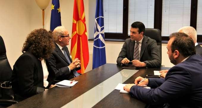 Попоски на средба со Дебоут: Македонија да стане членка на ИХРА