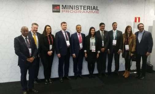 Арсовска Томовска на министерска конференција на Светскиот конгрес за мобилни технологии во Барселона