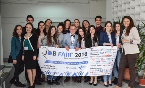 Студентската организација БЕСТ најавува 13-ти Саем за вработување и кариера
