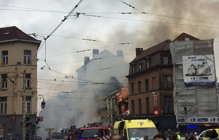 Во експлозија во Брисел еден загинат, седум повредени