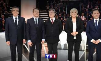 Жестока телевизиска дебата на кандидатите на француските претседателски избори